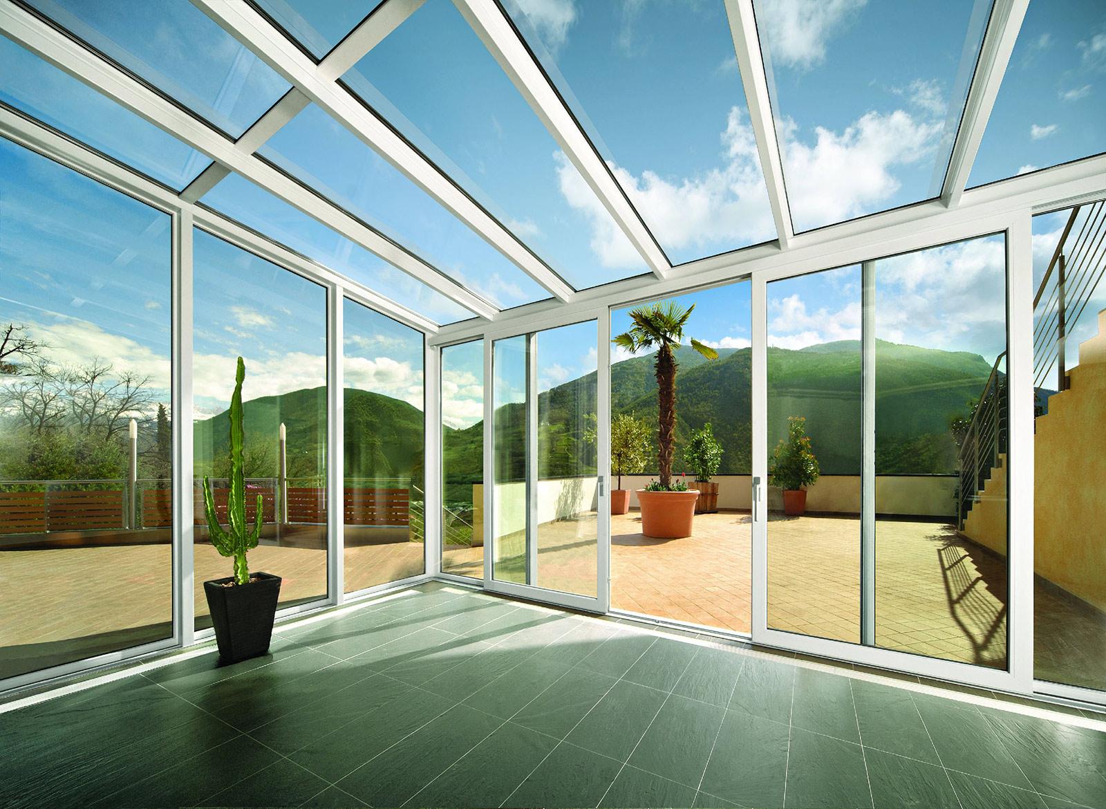 Vetri isolanti doppi e tripli vetreria tortoriello - Case moderne con vetrate ...